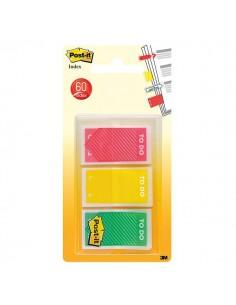 "Segnapagina Post-it® Index Medium ""To Do"" - rosso, giallo, verde - 682-TODO-EU (conf.3)"