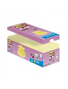 "Foglietti Post-it® Super Sticky a ""Z"" Value Pack - 76x76 mm - giallo Canary™ - R330-SSCY-VP20 (conf.20)"