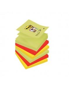 Ricariche Di Foglietti Post-It® Super Sticky Z-Notes Colorate - 76x76 mm - R330-Ss-Mar-Eu (Conf.6)
