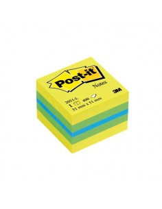 Post-it® Minicubi - 51x51 mm - giallo - 2051-L