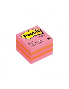 Post-it® Minicubi - 51x51 mm - rosa - 2051-P