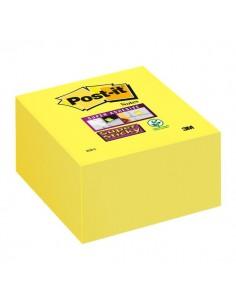 Post-it® Super Sticky Cubo - 76x76 mm - giallo oro - 2028-S