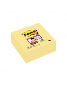 Foglietti Post-It® Super Sticky Giallo Canary™ - Cubo - 76x76 mm - Giallo Canary™ - 270 - 2028-Sscy-Eu
