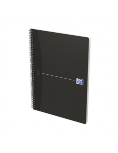 Blocco spiralati Office Smart Black&Original Blue Oxford - A4 - 5 mm - nero - 90 ff - 100100759