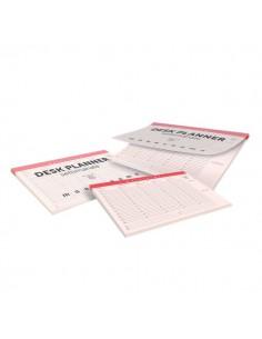 Desk planner settimanale Monocromo Pigna - 29x42 cm - 60 - 022657900