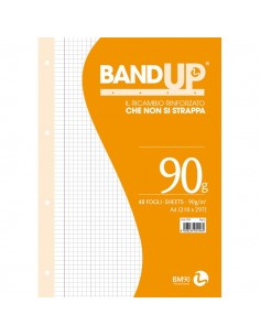 Ricambi rinforzati Bund Up A4 BM - Q - 0105496 Q (conf.40)