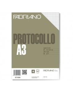 Fogli protocollo Fabriano - standard - 4 mm -66 g/mq - 02710566 (conf.200)