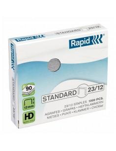 Punti per alti spessori Rapid - Punti metallici 23/12 - 24869400 (conf.1000)