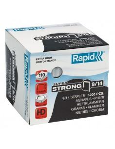 Punti per alti spessori Rapid - Punti metallici 9/14 Super Strong - 24871500 (conf.5000)