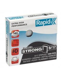 Punti per alti spessori Rapid - Punti metallici 9/17 Super Strong - 24871600 (conf.1000)