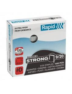 Punti per alti spessori Rapid - Punti metallici 9/20 Super Strong - 24871700 (conf.1000)