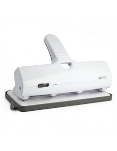 Perforatore ALU 40 a 4 fori fissi Rapesco – 40 fogli - bianco - 1324