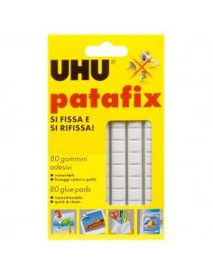 Gomma adesiva UHU® Patafix - bianco - 10x17 cm - D1573/D1620 (conf.80)