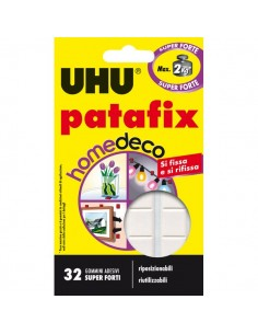 Patafix HomeDeco UHU - bianco - D1590 (conf.32)