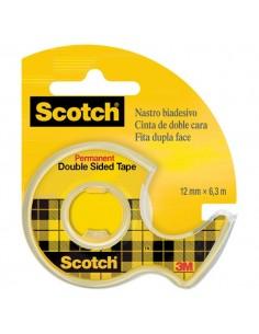 Chiocciola ricaricabile nastro biadesivo Scotch® 665 - 12 mm x 6,3 m - 665-136D
