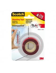 Nastro biadesivo trasparente extraforte Scotch - 19 mm x 1,5 m - 35- 40041915B