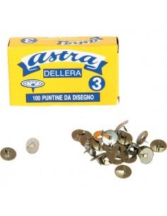 Puntine ad 1 punta Astra Leone Dell'Era - 12 mm - PL3 (conf.100)