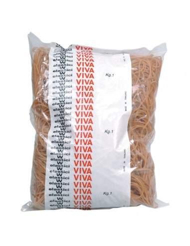 Elastici in gomma naturale Viva - 40 mm - EN040 (conf.1000 grammi)