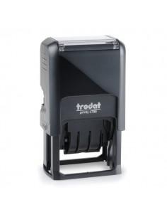Datario autoinchiostrante con testo commerciale Printy 4750 Trodat - registrato - 141075