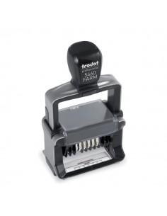 Timbro autoinchiostranti professionale Trodat - 56x33 mm - per farmacia - 9038