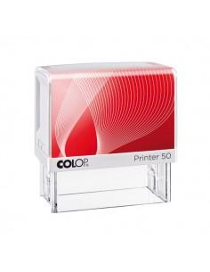 Timbro autoinchiostrante Printer G7 50 Colop - 30x69 mm - 7 righe - Pr50G7.Bi