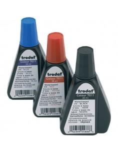 Inchiostro per timbri 7011 Trodat - rosso - 28 ml - 55885