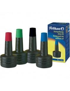 Inchiostro senza olio per timbri Pelikan - rosso - 28 ml - 0BBA28