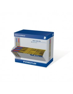 Penna a sfera Noris® Stick Staedtler - 35 blu/15 rosso - 434SCAP2LB (conf.50)