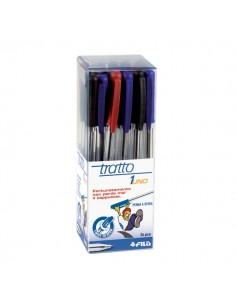 Penna a sfera Tratto 1 - assortito - 821200 (conf.24)