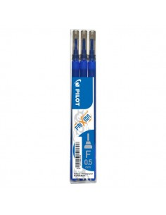 Frixion Point 0,5 Pilot - Refill - blu - 0,5 mm - 006421 (conf.3)
