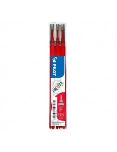 Frixion Point 0,5 Pilot - Refill - rosso - 0,5 mm - 006422 (conf.3)
