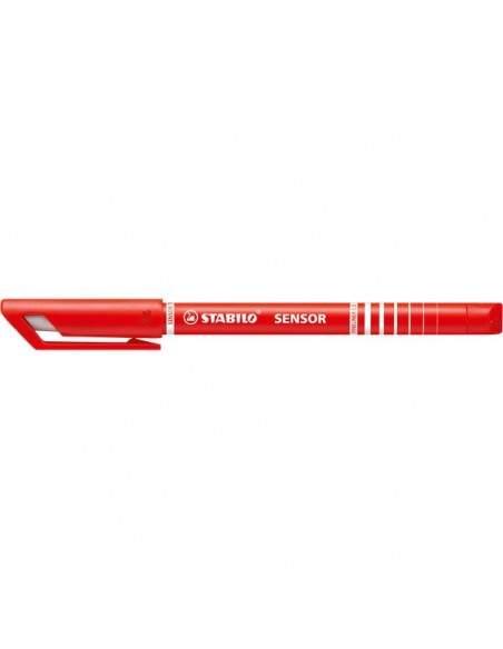 Fineliner SENSOR® Stabilo - rosso - 189/40 (conf.10)