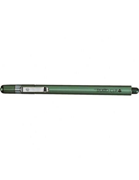 Tratto Clip - verde - 0,3 mm - 8026 04 (conf.12)