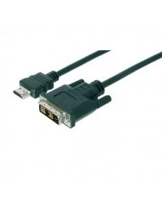 Adattatore HDMI tipo A - DVI Ednet - 2 mt - 84473