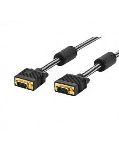 Cavo Monitor VGA Ednet - 1,8 mt - nero-oro - 84530