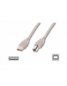 Cavi USB Ednet - bianco - 1,8 mt - 84126
