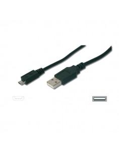 Cavo di estensione USB 2.0 tipo A - micro B Ednet - nero - 1,8 mt - 84130