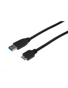 Cavo collegamento USB 3.0 Ednet - USB 3.0 - 1 mt - 84133