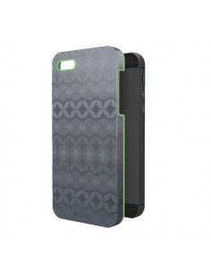Custodie per IPhone 4/4S/5 Leitz - grigio/verde lime - 63730089