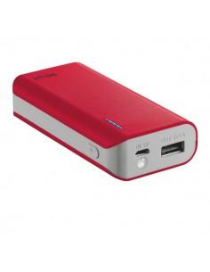 Caricatore Portatile Power Bank 4400 Trust -rosso - 21226