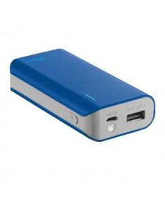 Caricatore Portatile Power Bank 4400 Trust - Blu - 21225