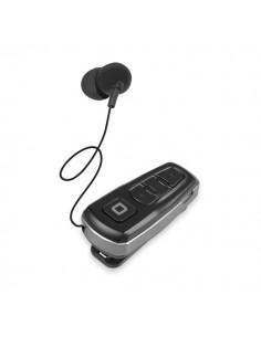 Auricolare Bluetooth con roller clip SBS - mono - nero - TEROLLCLIPBTK