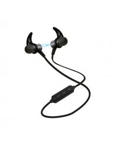 Auricolari Bluetooth magnetici con laccio da collo SBS - nero - TEEARSETBT500K