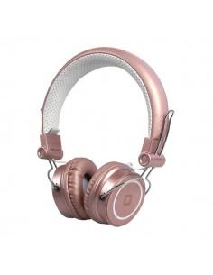 Cuffie stereo Bluetooth DJ SBS - stereo - pink gold - TTHEADPHONEDJBTG