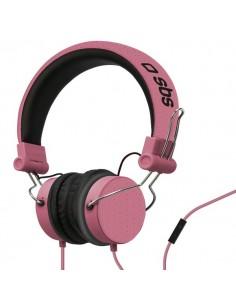 Cuffie stereo con filo Studio Mix SBS - stereo - rosa - TTHEADPHONEDJONEP