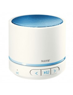 Minicassa wireless Bluetooth WOW Leitz - blu metallizzato - 63581036