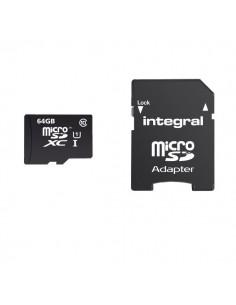 Flash memory card Integral - 8 GB - INMSDH8G10-40U1