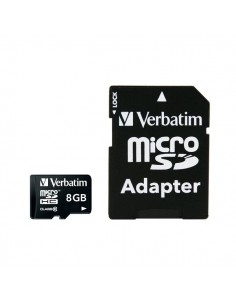 Flash memory card Verbatim - Micro SDHC Class 10 - 8 GB - 44081