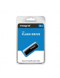 USB flash drive 2.0 Integral - 16 GB - INFD16GBBLK