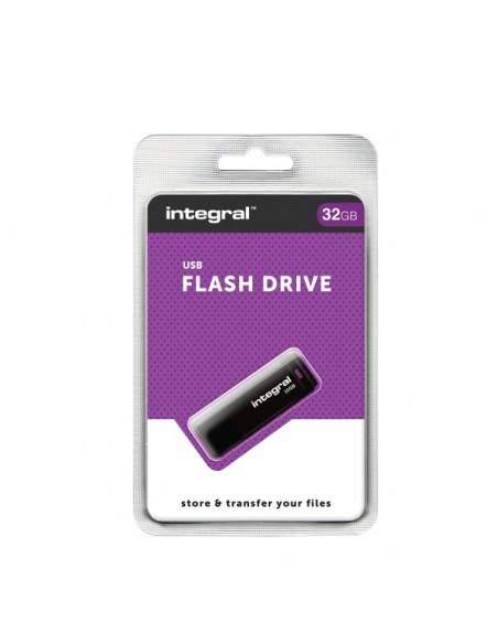 USB flash drive 2.0 Integral - 32 GB - INFD32GBBLK